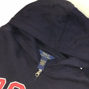 Polo Ralph Lauren Boys Full Zip Hoodie XL 18/20